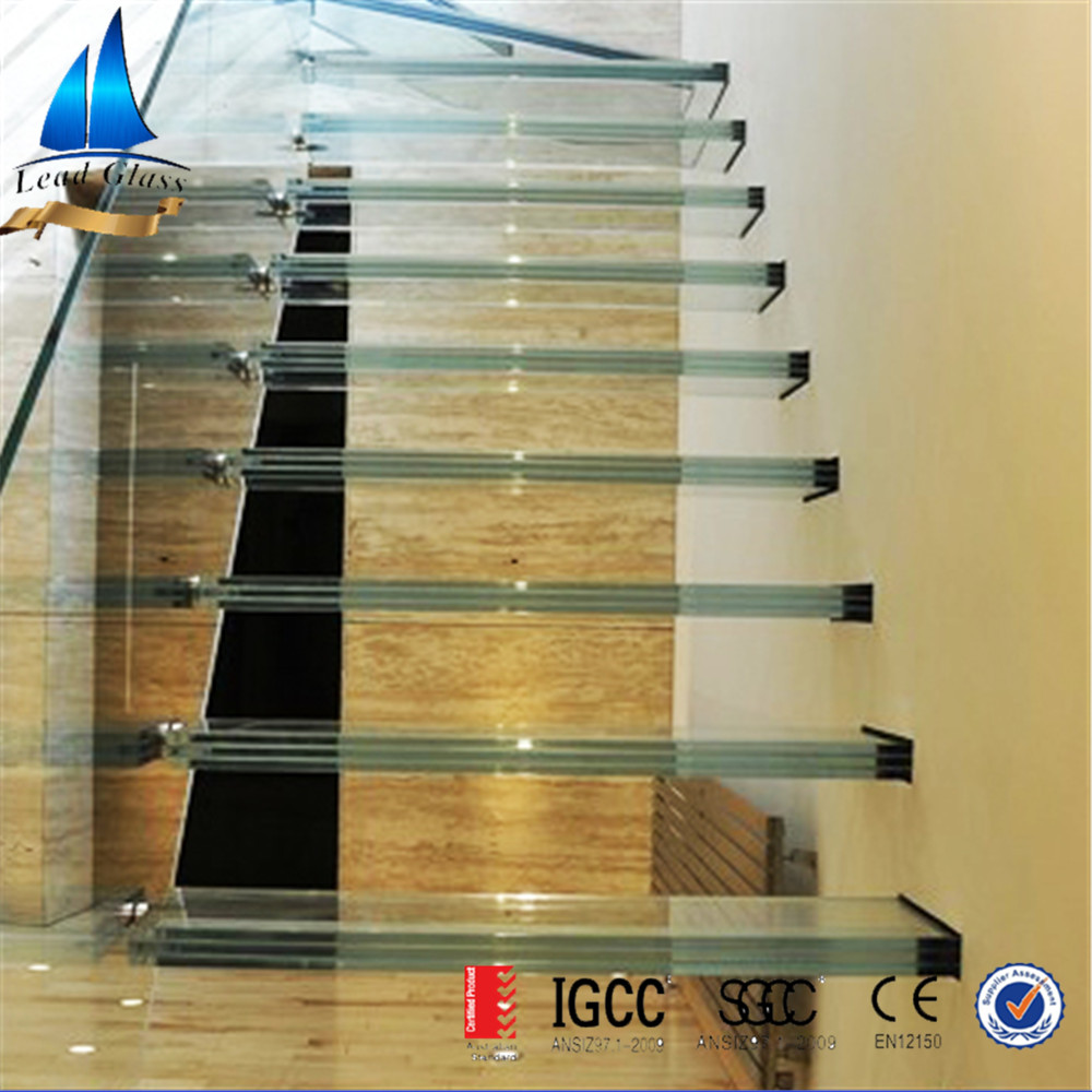 Laminated Glass for Staircase