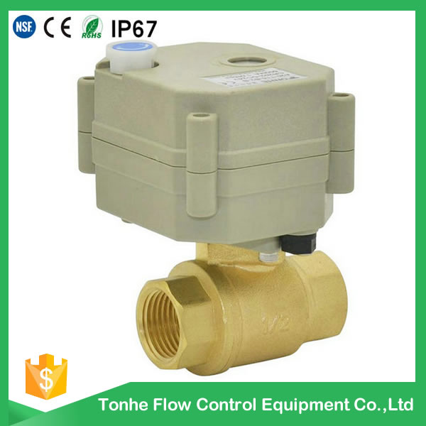 2016 OEM Dn15 Electric Motorized Control Ball Valve Types (T15-B2)