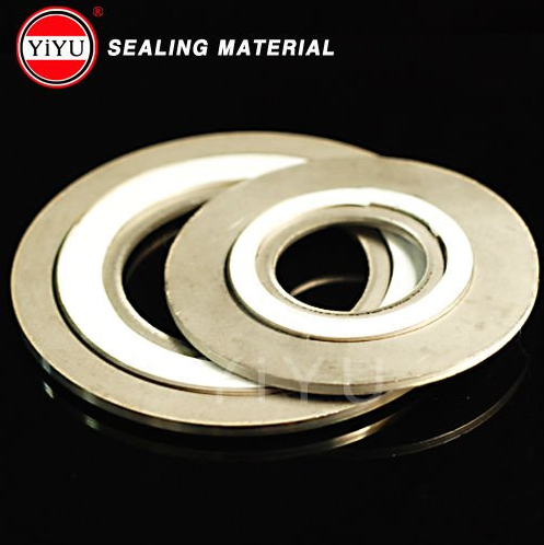 ASME B16.20 Spiral Wound Gasket Stainless Steel Material with Outer Ring and Inner Ring