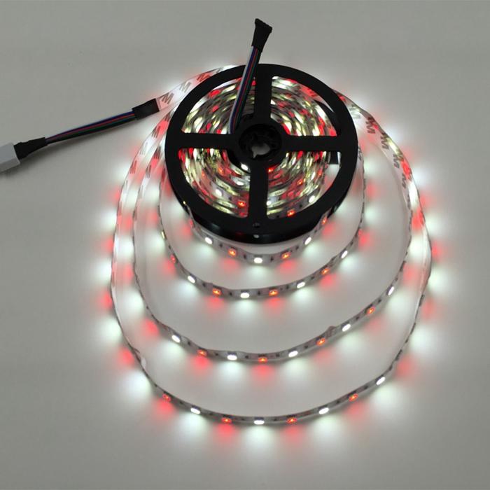 5050 60LED/M 12V Non-Waterproof White LED Flexible Strip