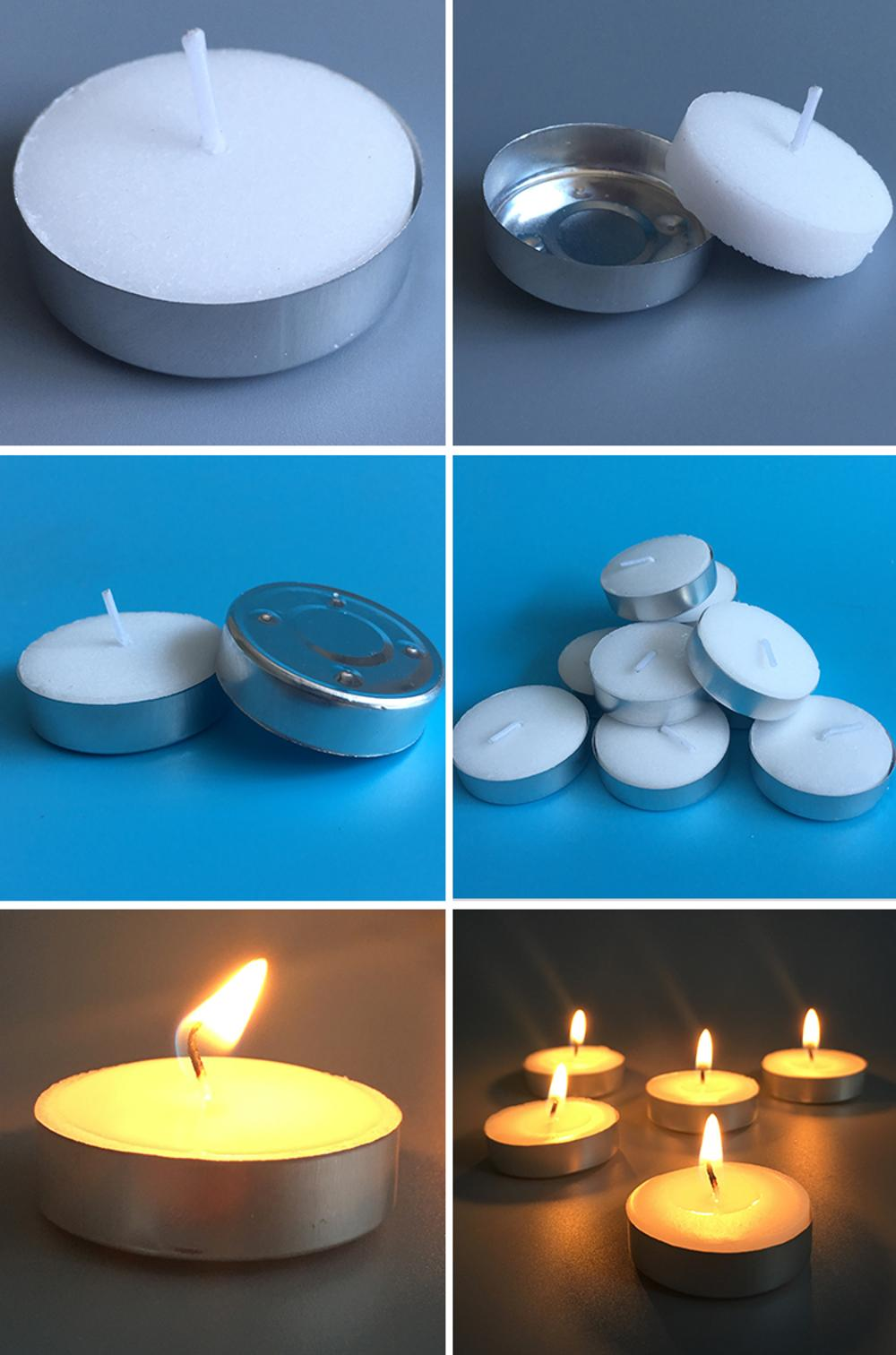 Unscented Tea light candles
