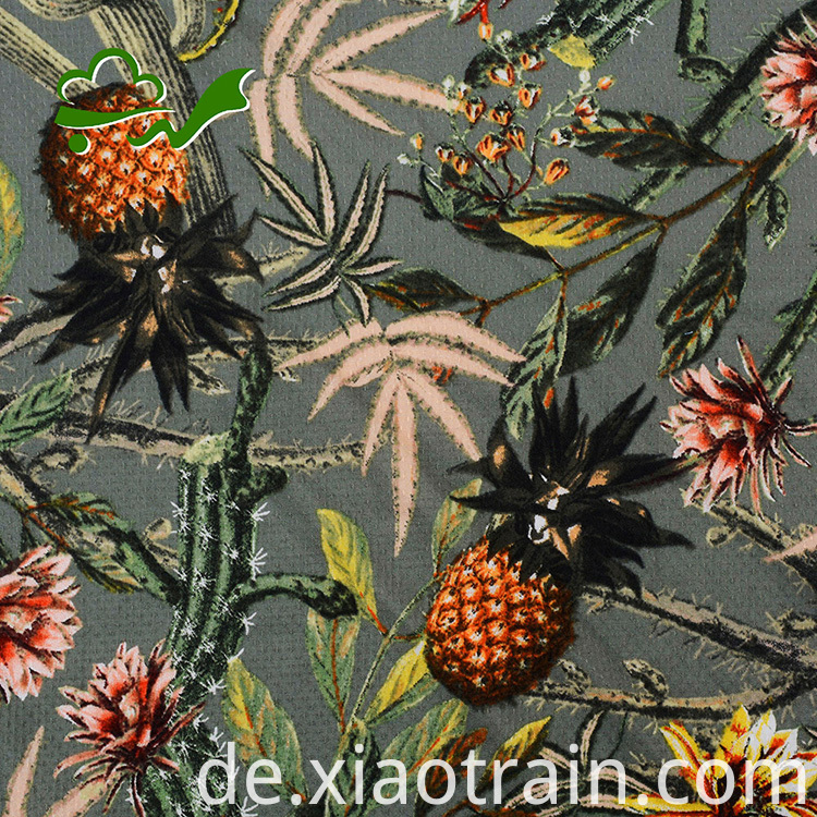 rayon floral fabric
