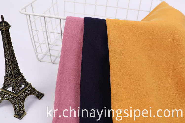 Dyed Crepe Fabric