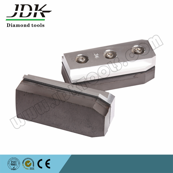 Jdk Diamond Abrasive Fickert Without Flume for Granite Grinding