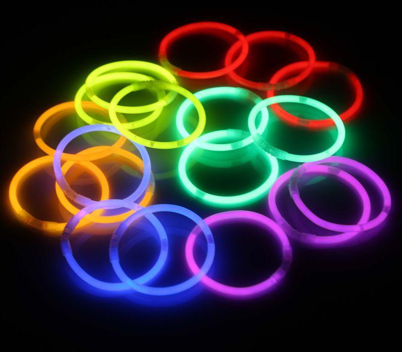 8 Inch Glow Sticks Bracelet