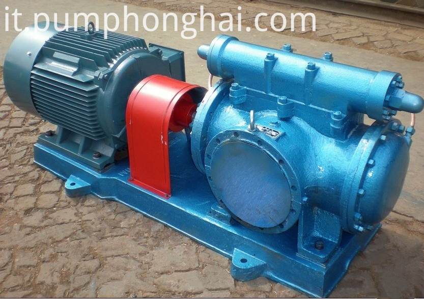 3G100*2-160D three screw heavy oil pump
