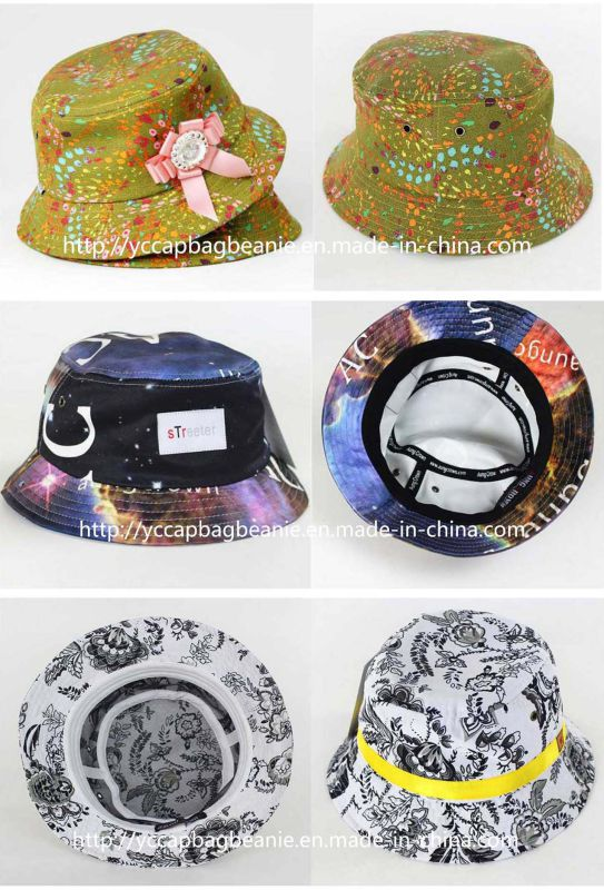 100%Cotton Fashion Outdoor Fishman Bucket Hat