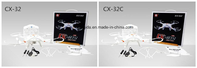 2.4G RTF Radio Control Plane Helicopter Drone with 2MP Camera 5.8g Fpv Transmission