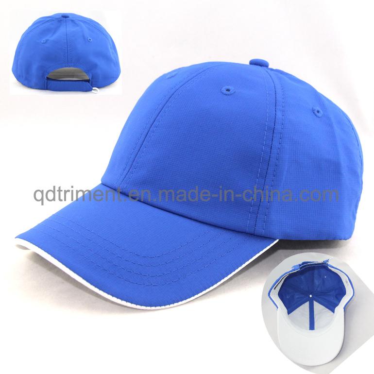 Microfiber 100% Polyester Fabric Golf Baseball Cap (TRNB092)