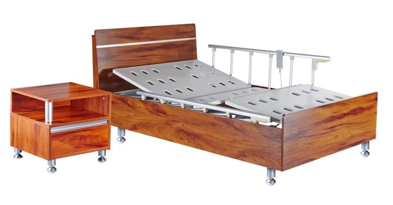 Hospital Wooden Bed for Electric Adjustable Medical Equipment (HK-N215)