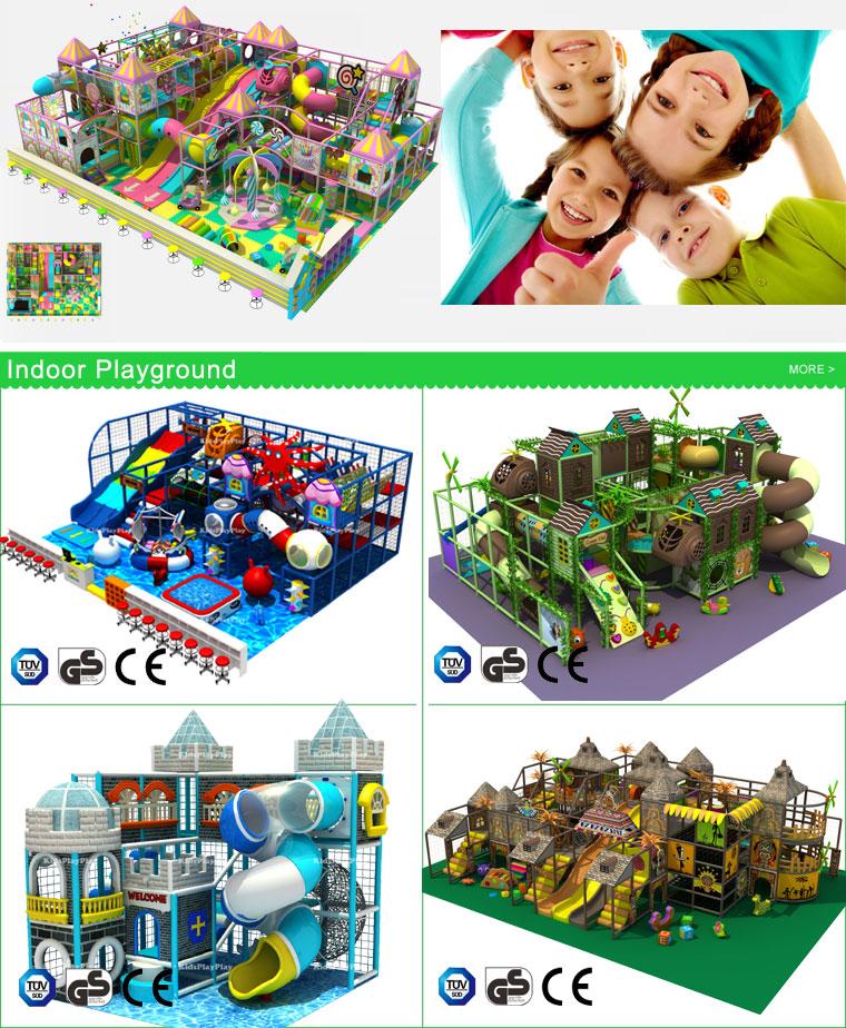 Kids Games Plastic Slide Playground Equipment Indoor Soft Play