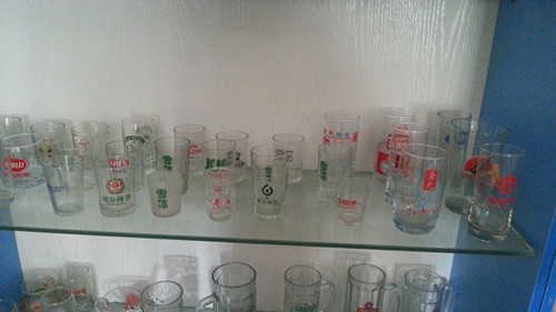 Print Drinking Ware Advertising Glass Cups Glassware Kb-Hn0598