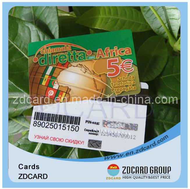 Customized Code Calling Scratch Card