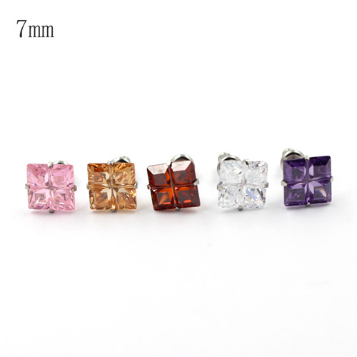 Fashion Jewelry Crystal Ear Ring, Silver Women Wedding Stud Earrings