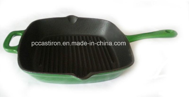Enamel Cast Iron Skillet Manufacturer From China