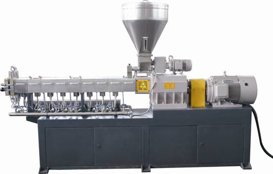 Lab Tsh-30b Extruder Low Capacity in Plastic Twin Screw Extruder