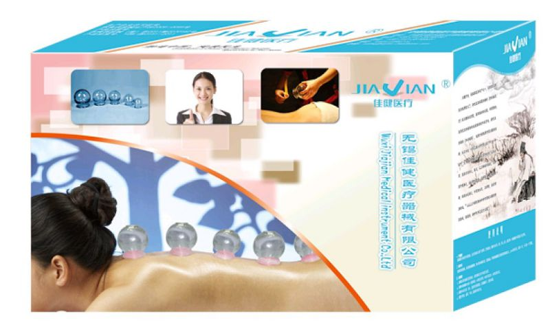 Glass Cupping Jar for Chinese Cupping Therapy and Massage