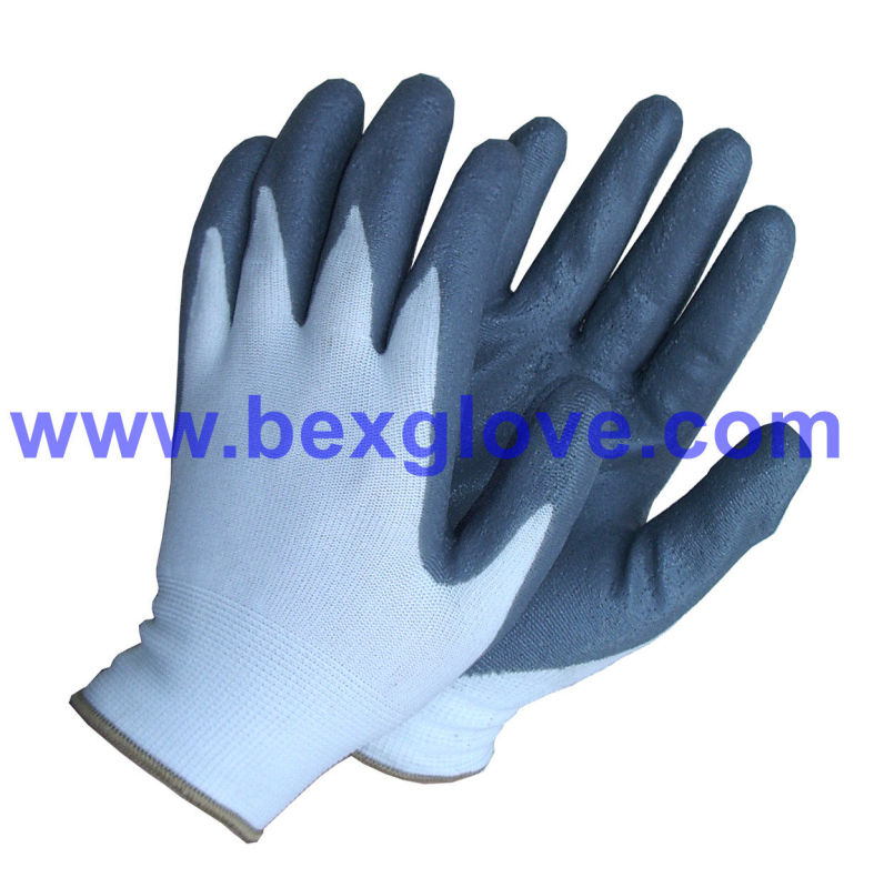 Nitrile Foam Finish Work Glove