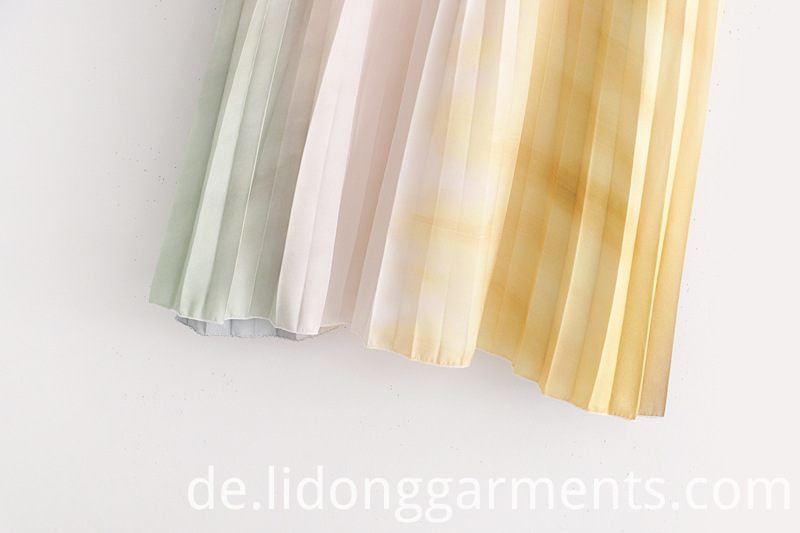 Customized Pleated Skirt