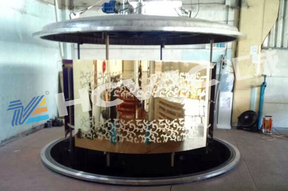 Hcvac Stainless Steel Gold, Rosegold, Black, Blue Metallization PVD Vacuum Coating Machine