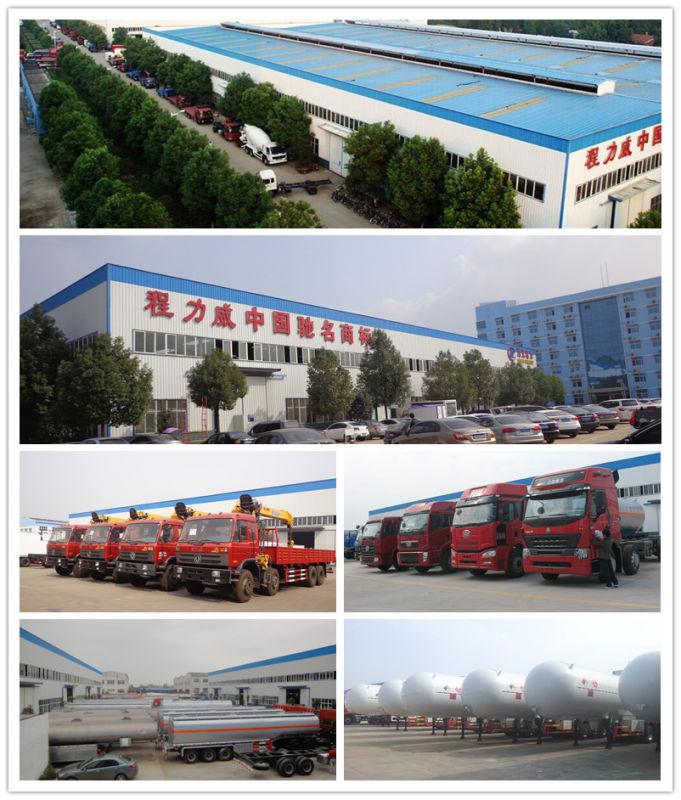 Dongfeng 8*4 25000 Liters Milk Truck