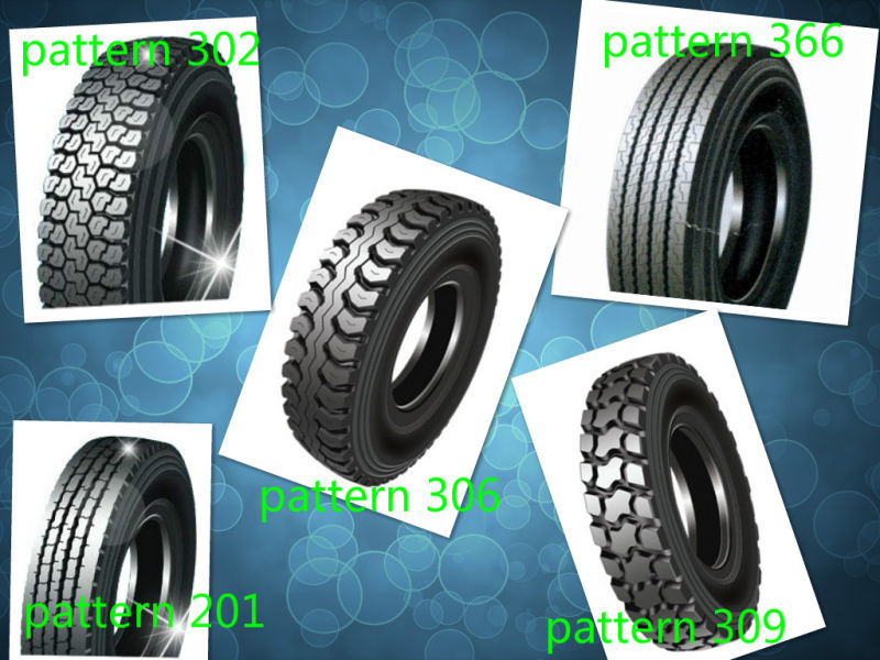 All Steel Radial Truck Tire with ECE DOT
