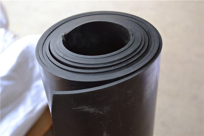 Acid and Alkali Resistant and Heat Resistant FKM Rubber Sheet