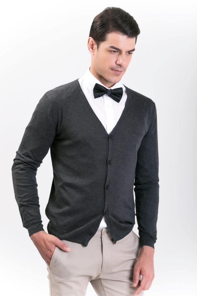 Men's Fashion Cashmere Blend Sweater 18brssm006