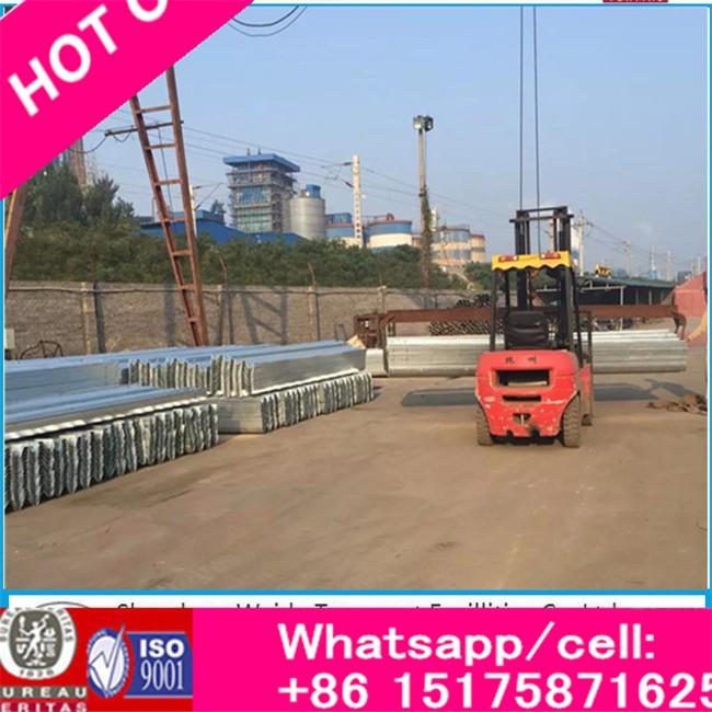 Two Waveform Guardrail Plate Steel Highway Guardrail Guard Rail Plate Guardrail