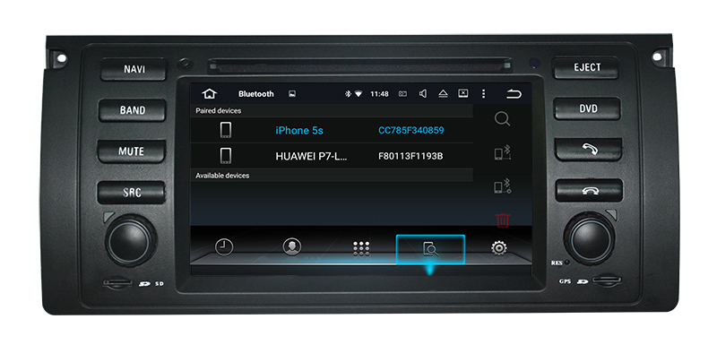 Quad Core Hl8786 Car DVD Player with Player MP3/4, 3G/4G, WiFi Bt for BMW E39/E53/M5 GPS Navi