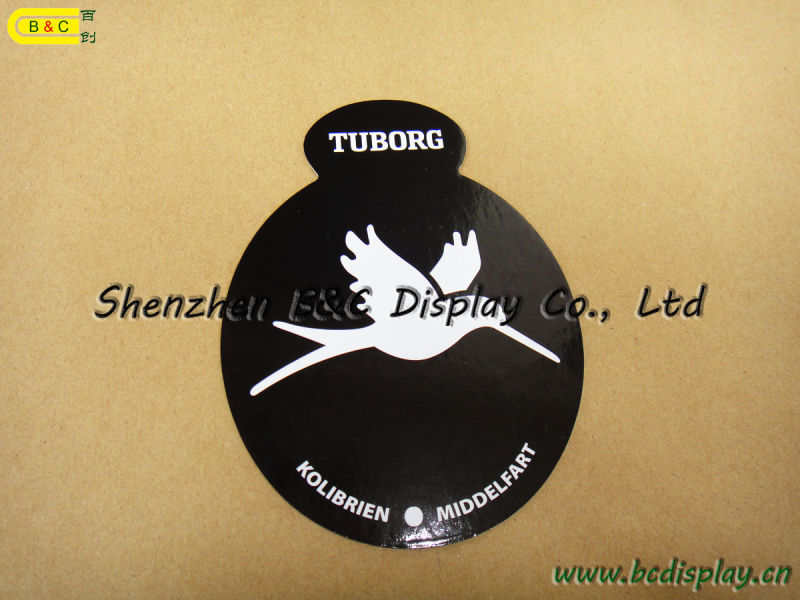 Special Shape Paper Coaster, Customizable Any Shape Paper Coasters (B&C-G081)