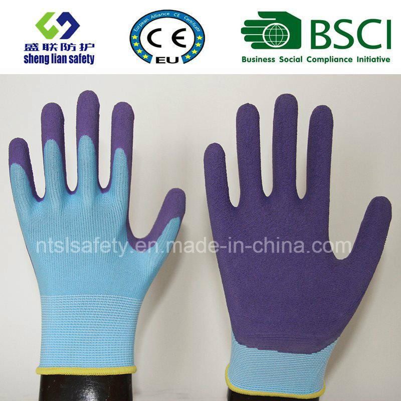 13G Foam Latex Coated Gardening Work Safety Gloves