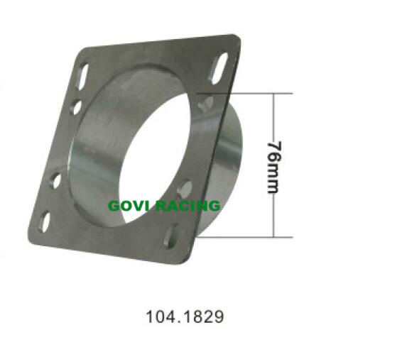CNC Machine Cutting 76mm Car Air Intake Adaptor