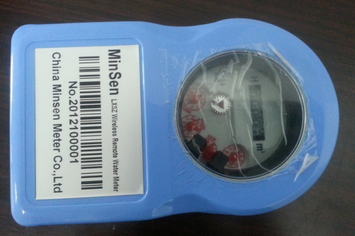 Plastic Valve-Controlled Wireless Smart Water Meter