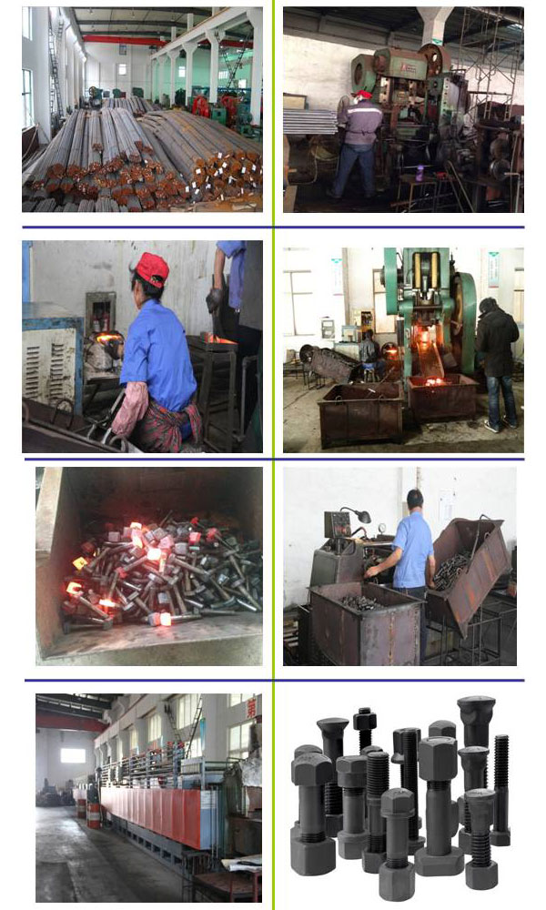 Farm Machinery Bolt Grade 10.9 Jiangsu