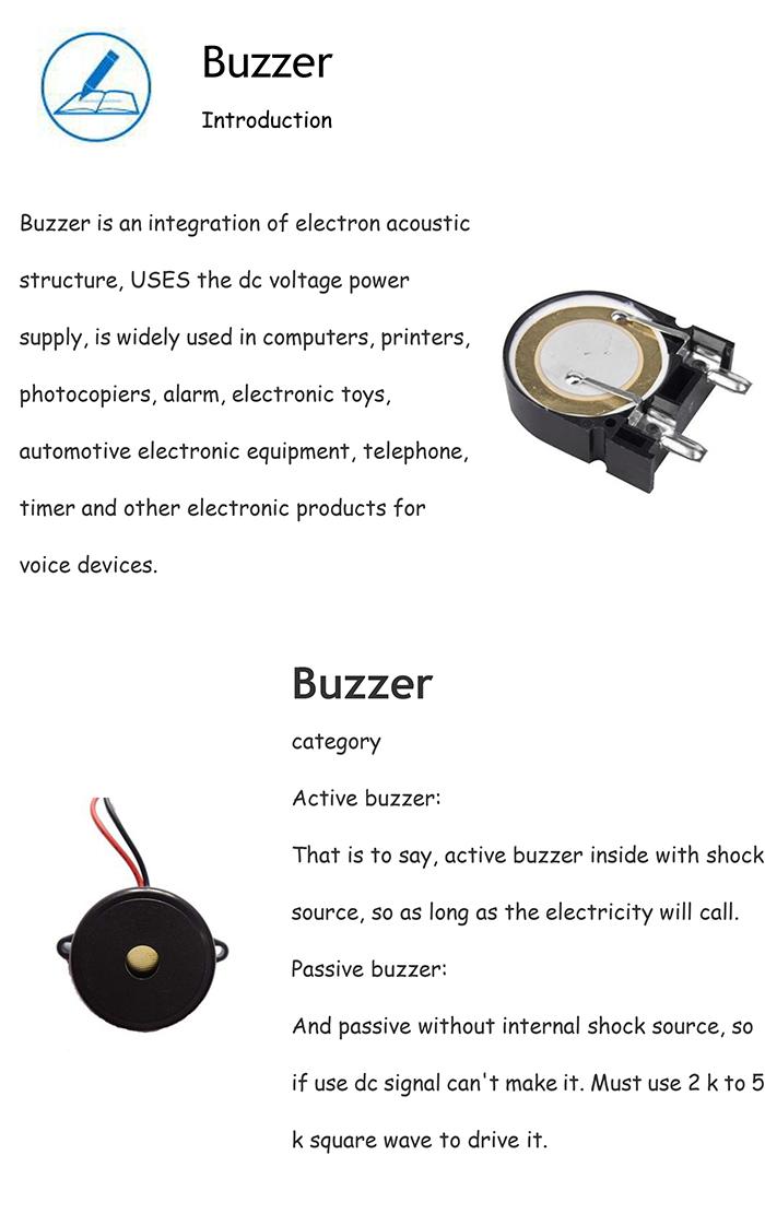2016 High Quality Buzzer 24V/Piezo Buzzer for Home Appliances