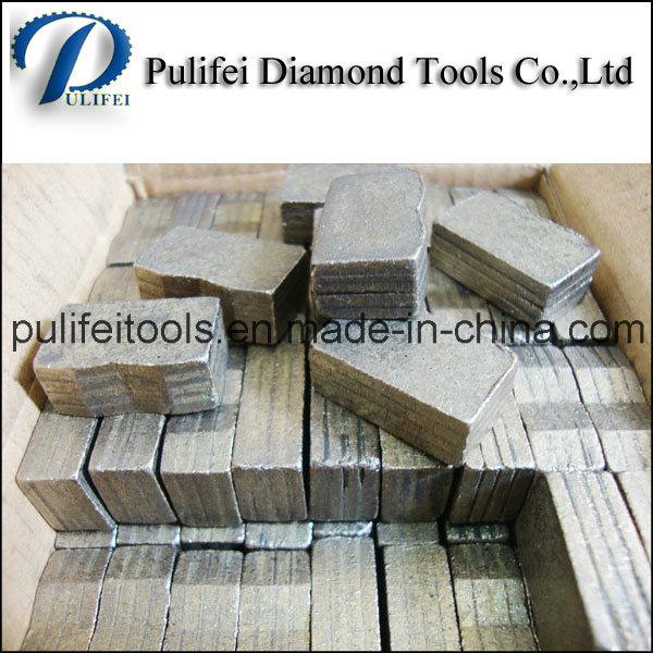 Abrasive Cutting Tools Diamond Segment Used on Diamond Cutter