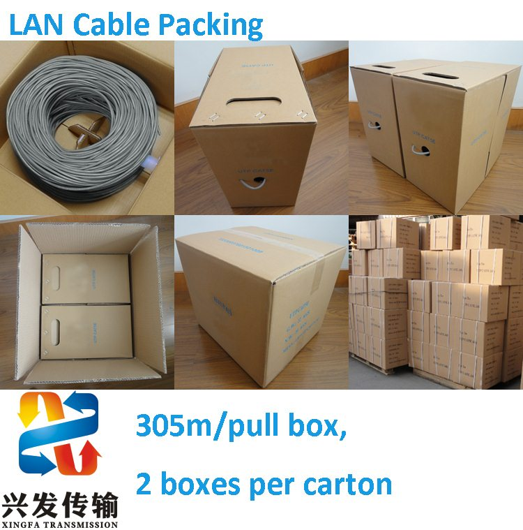 Fluked Passed UTP Patch Cable Cat 6 Network Cable
