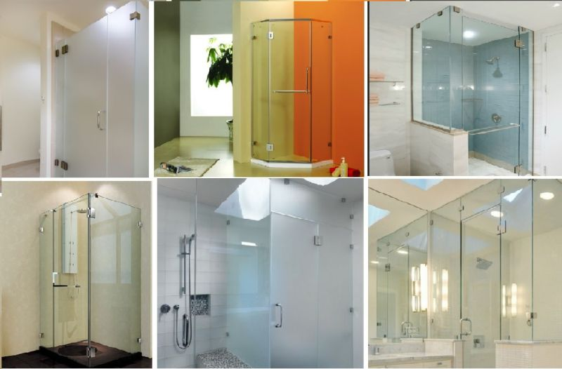 Wall to Glass Self-Closing Shower Hinge with High Quality (CR-Y01)