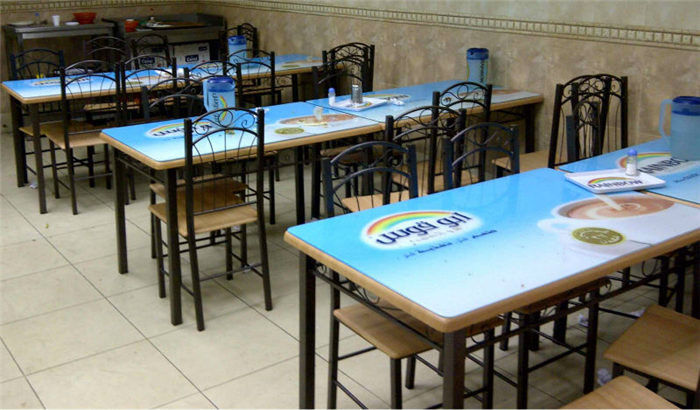 CMYK / White Ink Uv Digital Printing For Table Cover Eco - Friendly