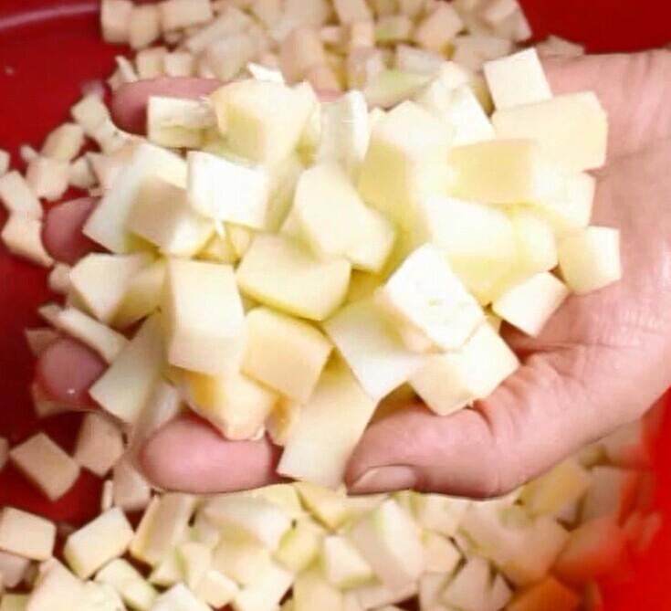 CD-800 Potato Cube Cutter Machine, Potato Dicing Machine, Potato Dicer