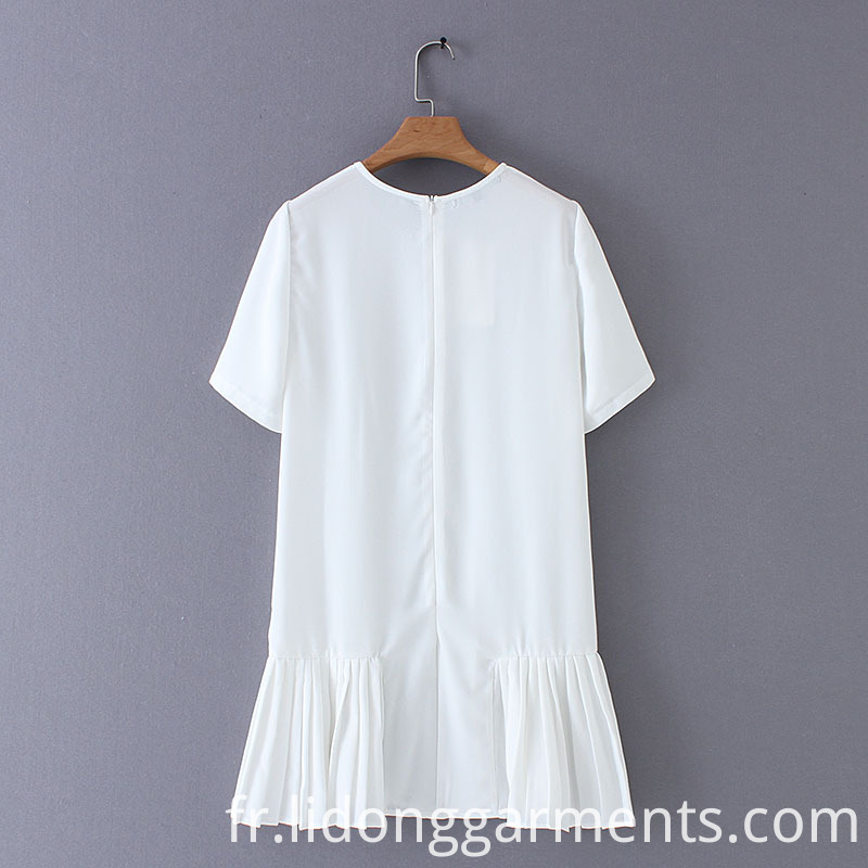Short Sleeve Dress for Summer Wear
