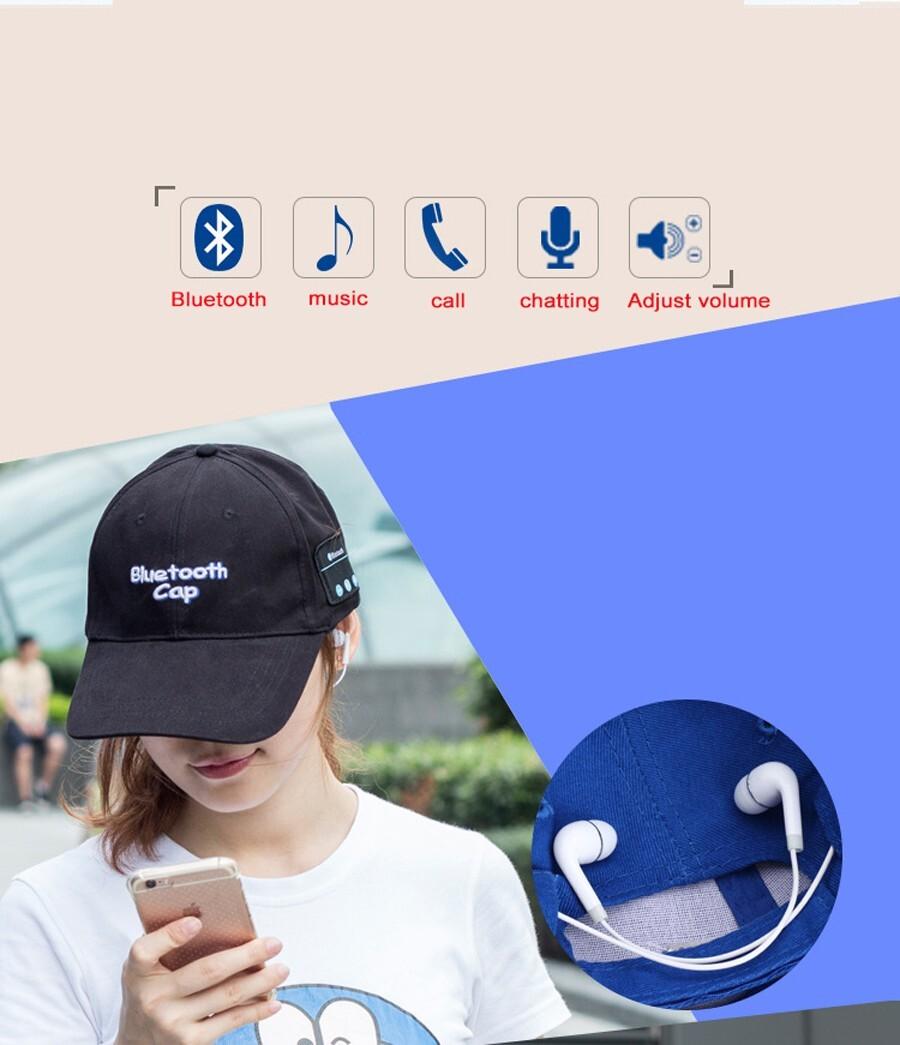 Bluetooth Hat Headphones
