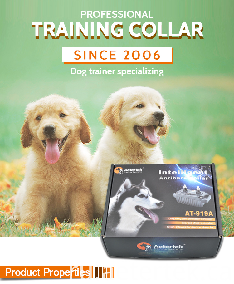 Auto Anti Bark Training Collar