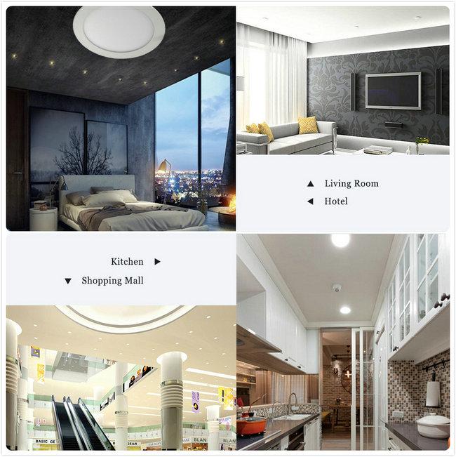 Hot Selling 16W LED Backlit Panel Light Housing for Hotel (Round)