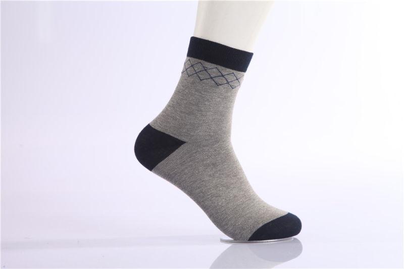 Classic Man Business Dress Crew Cotton Socks Good Quality Comfortable Wear