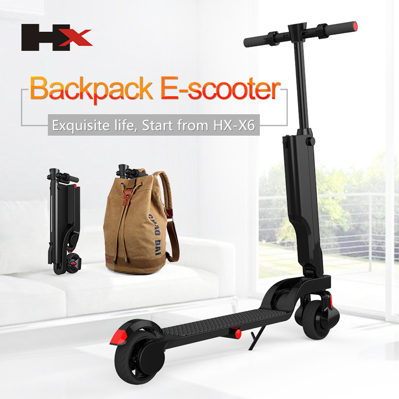 Backpack E-Scooter