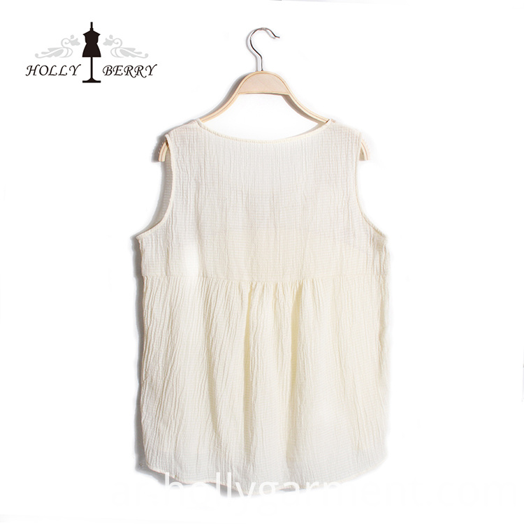 Summer Sleeveless Vest