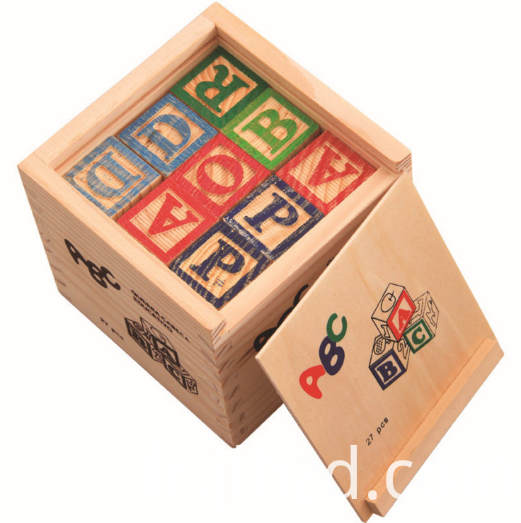 Building Blocks Wooden Puzzle Toys