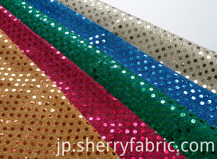 decorative metallic spangle fabric